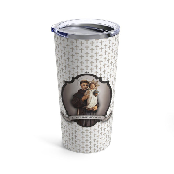 St. Anthony of Padua Tumbler 20 oz.