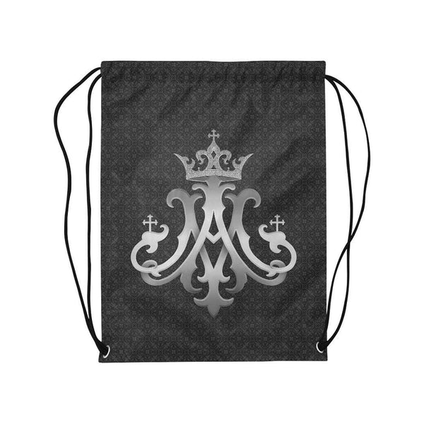 Ave Maria Drawstring Bag