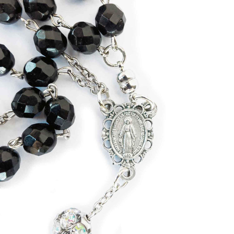 Ave Maria Rosary Necklace