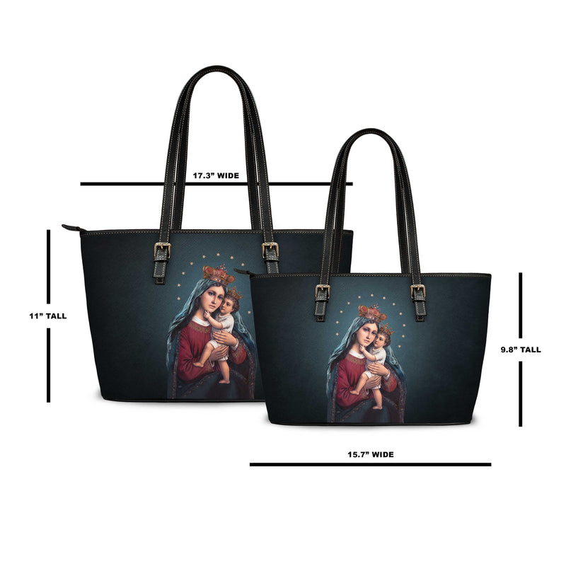 Divine King and Queen Tote Bag (Midnight Blue)