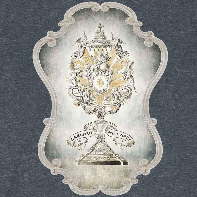 Divine Strength Monstrance Jersey T-Shirt