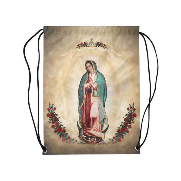 Our Lady of Guadalupe Drawstring Bag