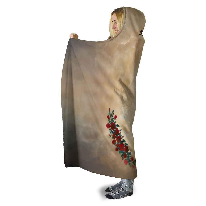 Our Lady of Guadalupe Hooded Blanket