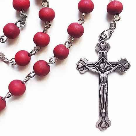 Rosalia Rose Scented Rosary