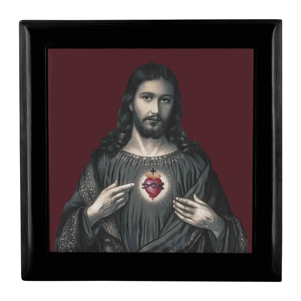 Sacred Heart of Jesus Keepsake Box