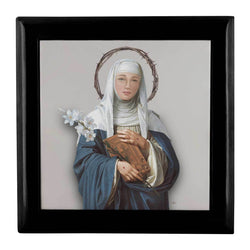 St. Catherine of Siena Keepsake Box