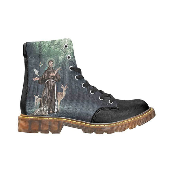 St. Francis of Assisi Women's Oxford Boots