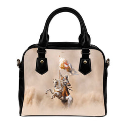 St. Joan of Arc in Battle Handbag