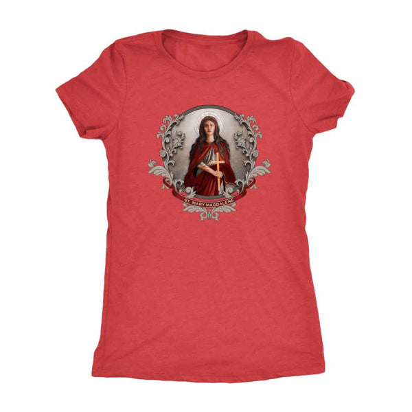 St. Mary Magdalene Women's Tri-Blend T-Shirt
