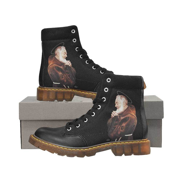 St. Pio Women's Oxford Boots (Black)