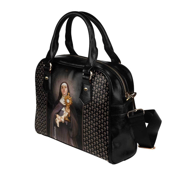St. Clare of Assisi Crosses Handbag