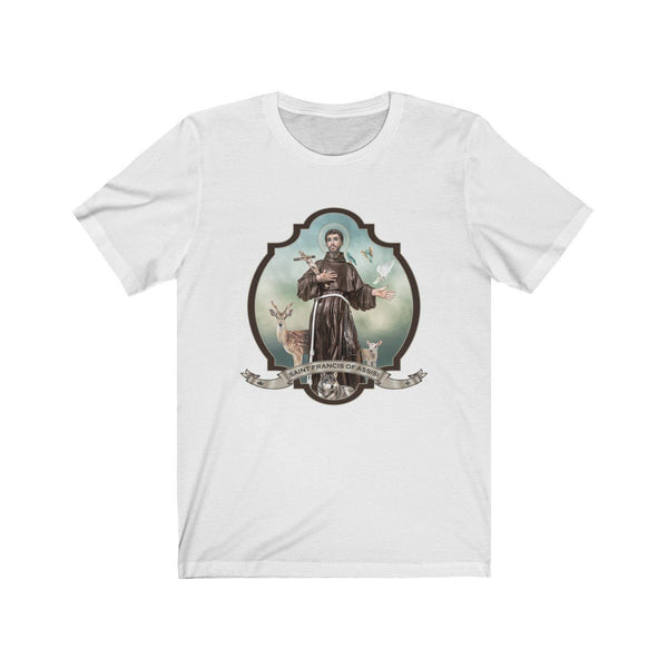 St. Francis of Assisi Jersey T-Shirt