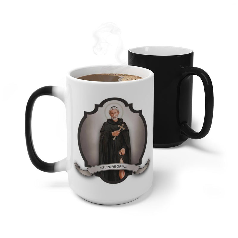 St. Peregrine Transitional Mug