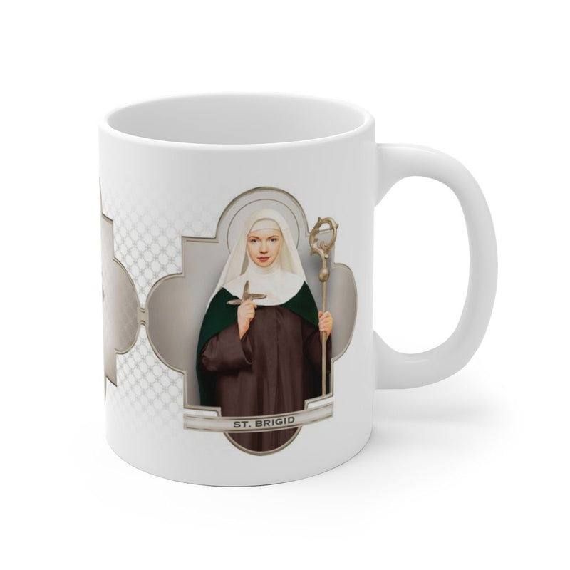 St. Brigid of Ireland Ceramic Mug