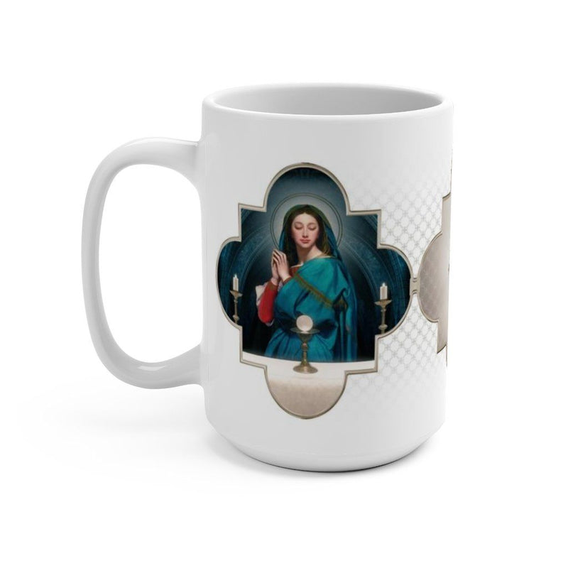 Our Lady of the Eucharist Ceramic Mug