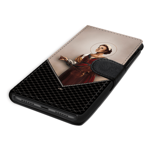 St. Cecilia Wallet Phone Case