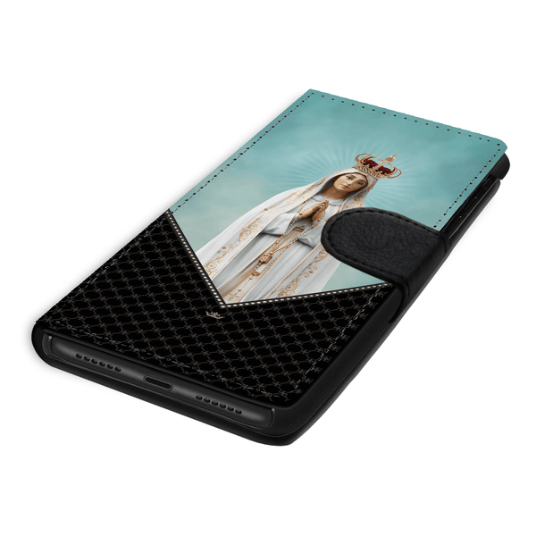Our Lady of Fatima Wallet Phone Case