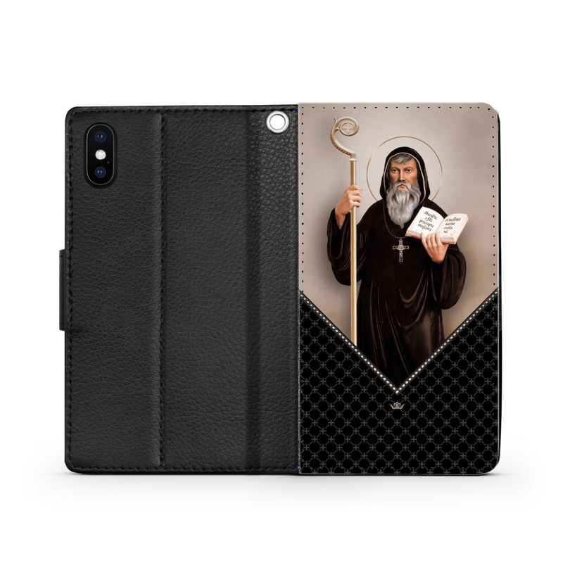 St. Benedict Wallet Phone Case