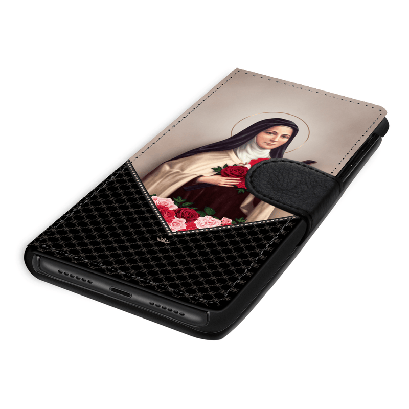 St. Therese of Lisieux Wallet Phone Case