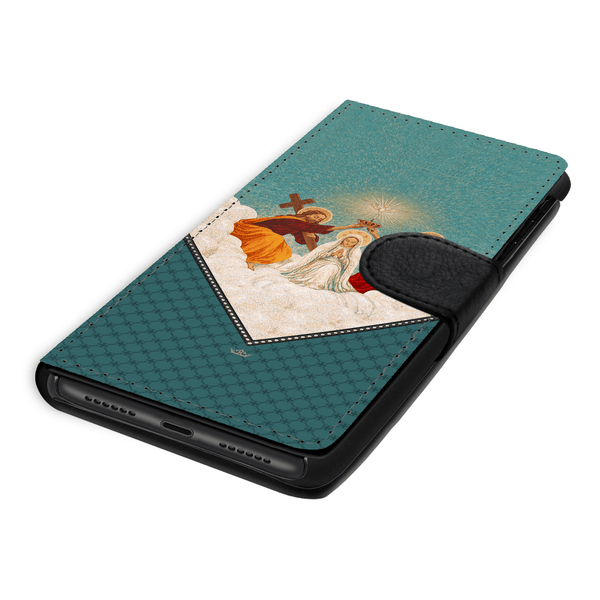 Mosaic Coronation of Mary Wallet Phone Case