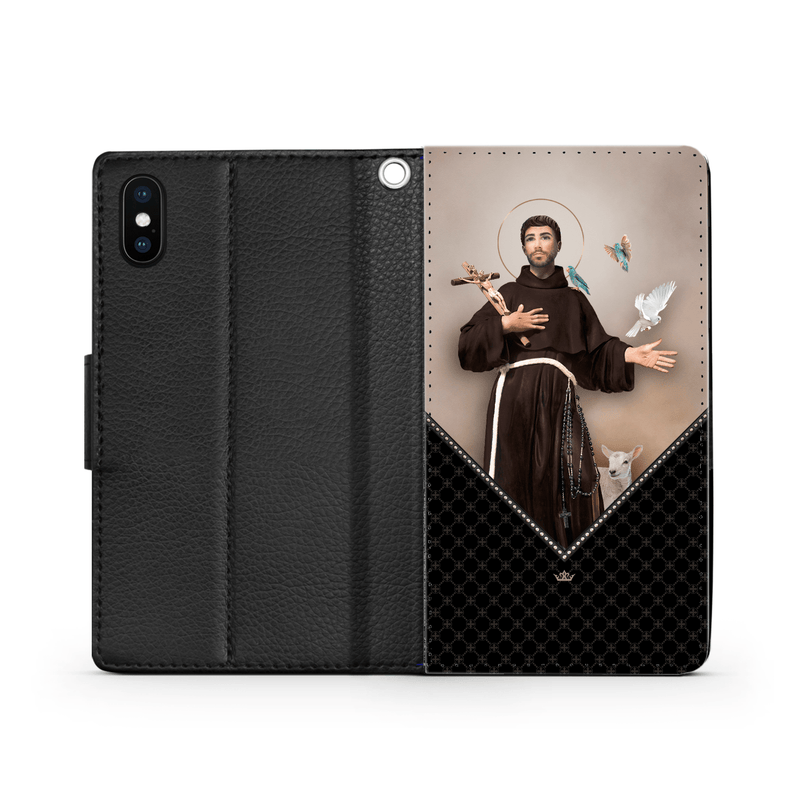 St. Francis of Assisi Wallet Phone Case