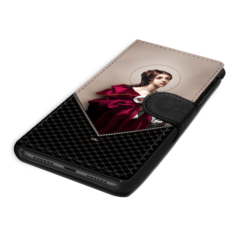 St. Agatha Wallet Phone Case