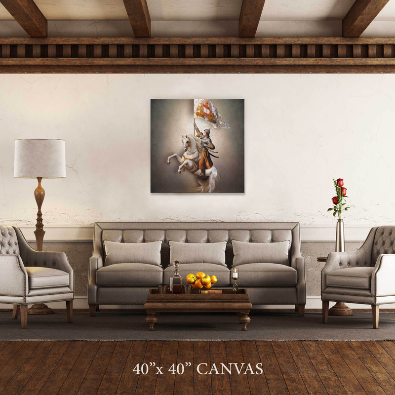St. Joan of Arc Canvas Print