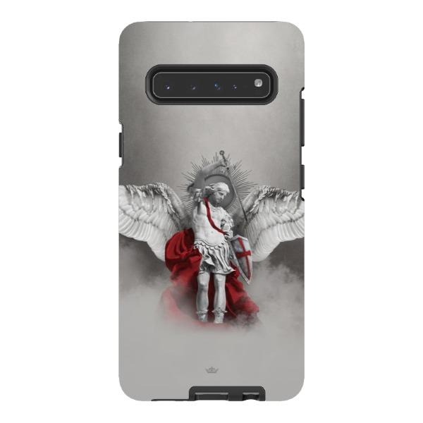 St. Michael the Archangel Hard Phone Case Samsung Galaxy S10 5G Gloss