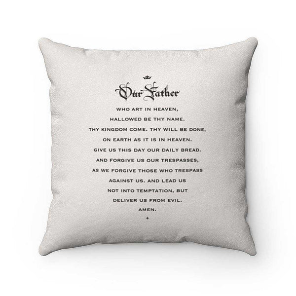 St. Therese of Lisieux Pillow (Roses)