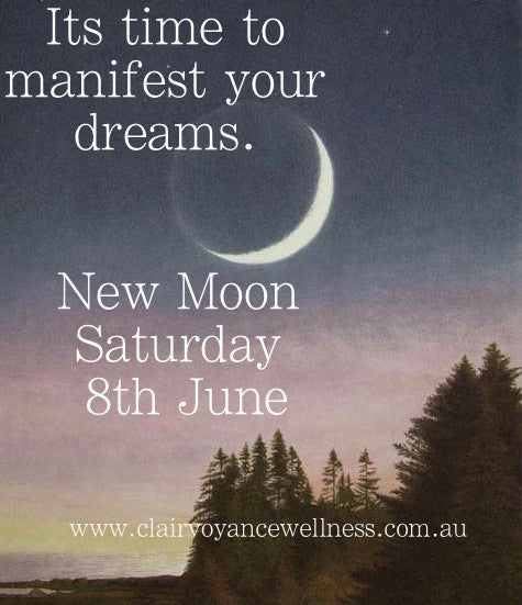Its New Moon Manifesting Time! This Saturday 8th June