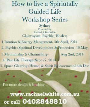 How to Live a Spiritually Guided Life- Workshop Series