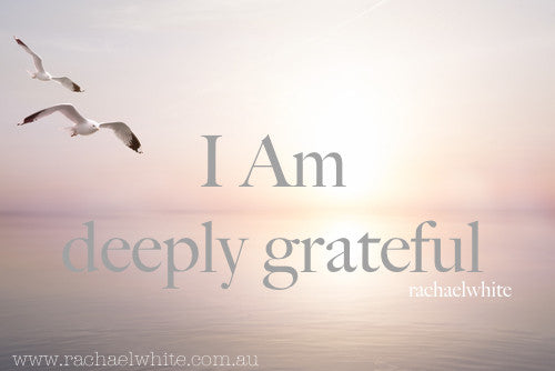 I AM ..deeply grateful