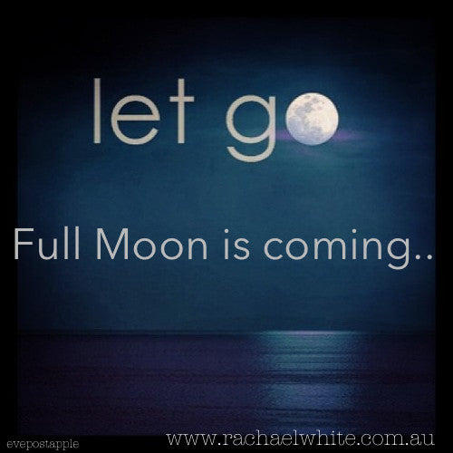 Full Moon & Supermoon ritual today....Peace on earth
