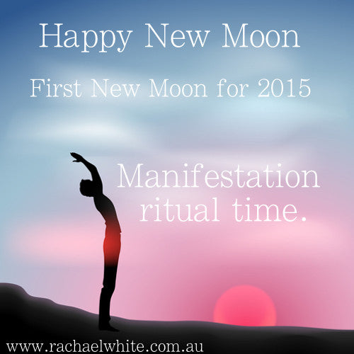 Happy New Moon Intentions- First New Moon for 2015