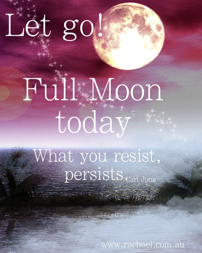 What you resist, persists! Let it Go!