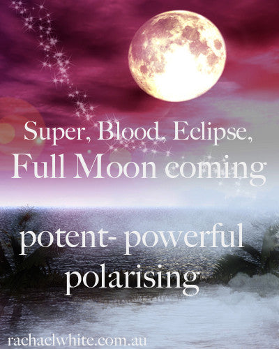Its a Full Moon, Blood, Super, Eclipse, Tetrad in the Equinox..