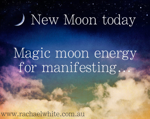 New Moon today...Don't hold back. Ever