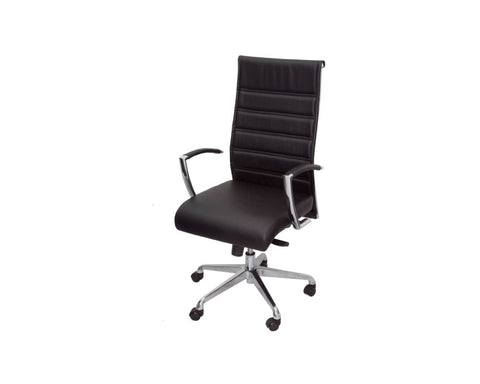 Rapidline Attila High Back Executive Chair Executive Chairs Dunn Furniture - Online Office Furniture for Brisbane Sydney Melbourne Canberra Adelaide