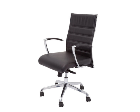 Rapidline Attila Medium Back Executive Chair Executive Chairs Dunn Furniture - Online Office Furniture for Brisbane Sydney Melbourne Canberra Adelaide