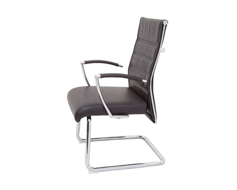Rapidline Quentin Visitor Chair Executive Chairs Dunn Furniture - Online Office Furniture for Brisbane Sydney Melbourne Canberra Adelaide