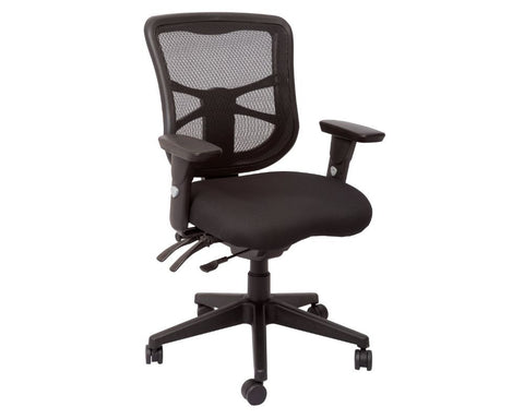 Rapidline Dam Mesh Back Operator Chair Task Chairs Dunn Furniture - Online Office Furniture for Brisbane Sydney Melbourne Canberra Adelaide
