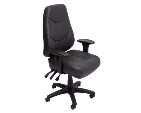 Rapidline Lander High Back Task Chair Task Chairs Dunn Furniture - Online Office Furniture for Brisbane Sydney Melbourne Canberra Adelaide