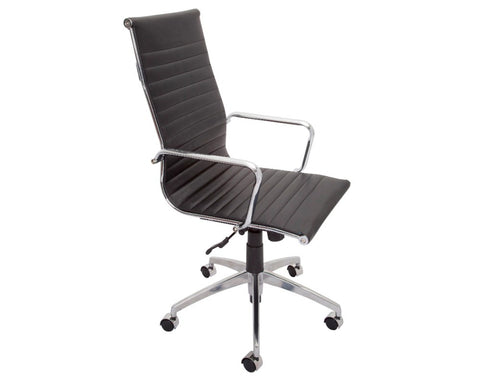 Rapidline Julian Executive High Back Chair Executive Chairs Dunn Furniture - Online Office Furniture for Brisbane Sydney Melbourne Canberra Adelaide