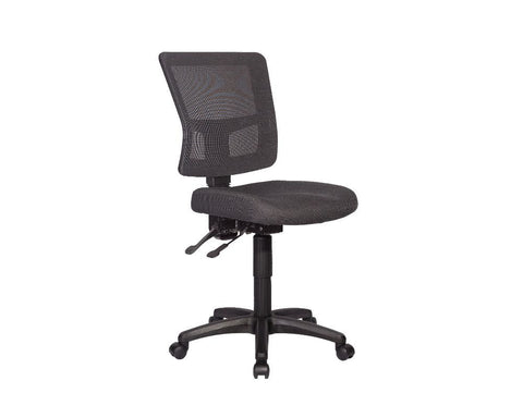 Rapidline River Mesh Back Operator Chair Black Task Chairs Dunn Furniture - Online Office Furniture for Brisbane Sydney Melbourne Canberra Adelaide
