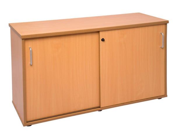 Rapidline Rapid Span Credenza Beech Storage Units Dunn Furniture - Online Office Furniture for Brisbane Sydney Melbourne Canberra Adelaide