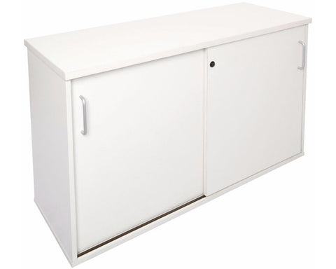 Rapidline Rapid Manager Credenza White Storage Units Dunn Furniture - Online Office Furniture for Brisbane Sydney Melbourne Canberra Adelaide