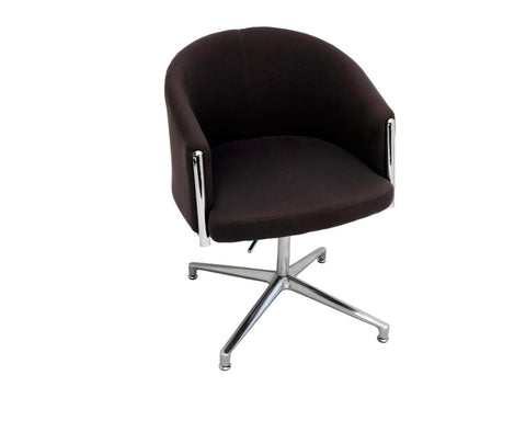 Rapidline Splash Club Office Lounge Chair Charcoal Lounge Chairs Dunn Furniture - Online Office Furniture for Brisbane Sydney Melbourne Canberra Adelaide