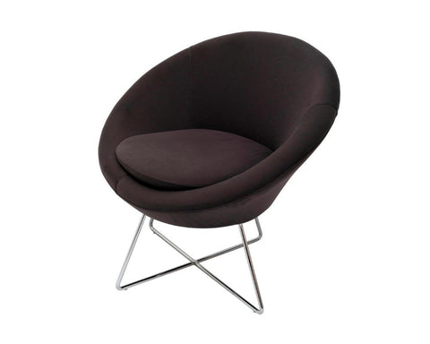 Rapidline Splash Cone Office Lounge Chair Charcoal Lounge Chairs Dunn Furniture - Online Office Furniture for Brisbane Sydney Melbourne Canberra Adelaide