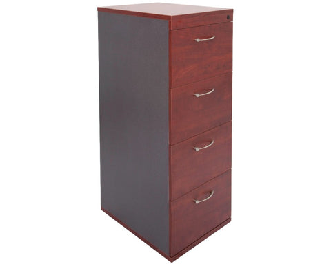 Rapidline Rapid Manager 4 Drawer Filing Cabinet - Appletree/Ironstone Storage Units Dunn Furniture - Online Office Furniture for Brisbane Sydney Melbourne Canberra Adelaide