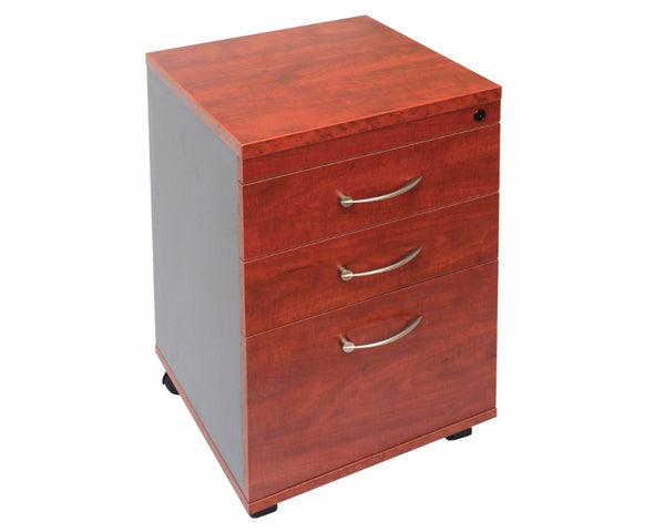 Rapidline Manager 3 Drawer Mobile Pedestal - Appletree Mobile Storage Units Dunn Furniture - Online Office Furniture for Brisbane Sydney Melbourne Canberra Adelaide